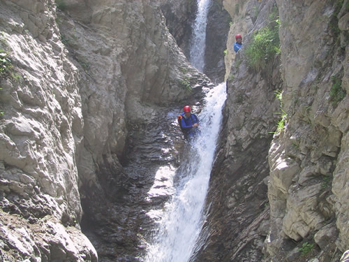 Canyoning Tschingelsbach