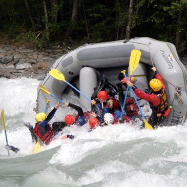 Ausbildung zum Swiftwater Rescue Technician – Lehrgang auf dem Inn und der Sanna