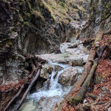 Bergleintalcanyon – Canyoning Schluchtenführer