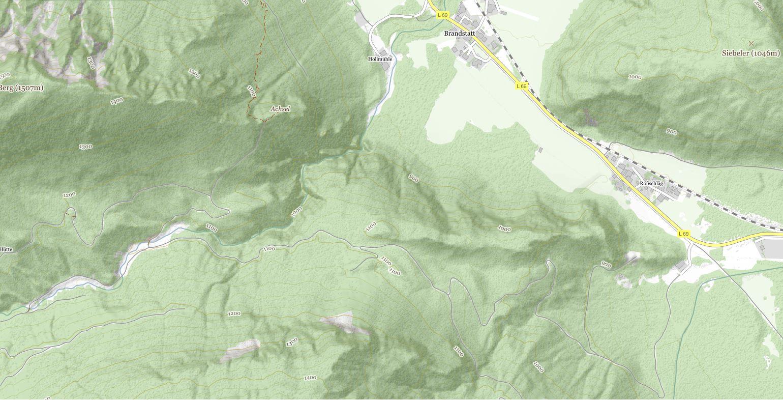 Sababach Karte © tiris/ASI