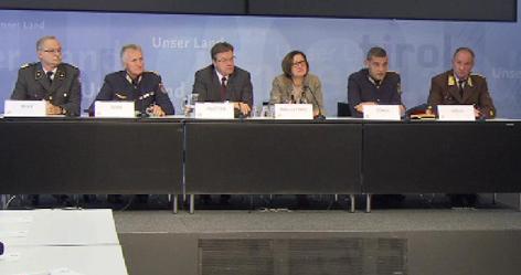 Pressekonferenz in Innsbruck - Foto ORF