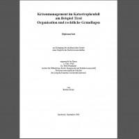 Krisenmanagement - Diplomarbeit Barbara Koler