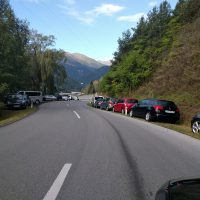 Auto Dosenberger hat seine Autos in Sicherheit gebracht