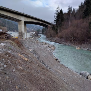 Zivilschutzalarm in Landeck: Mure verlegt die Sanna