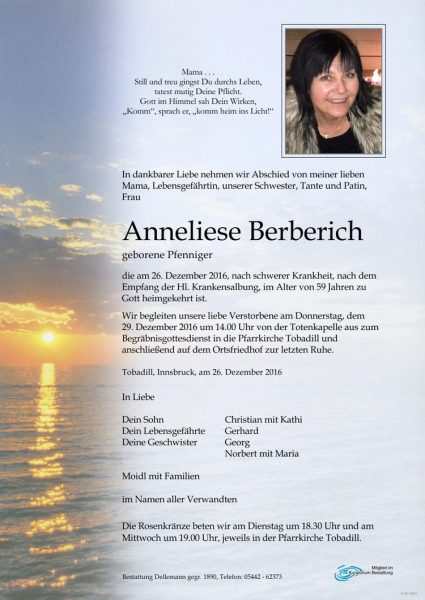 Parte Annelies Berberich