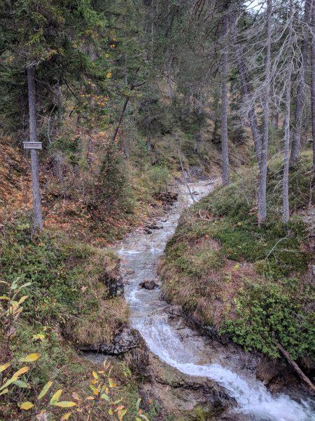 Wiesbachschlucht unterer Abschnitt
