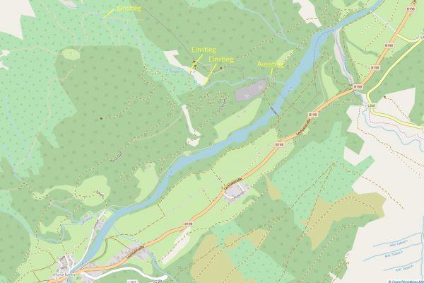 Lochbach OSM © OpenStreetMap-Mitwirkende/ASI