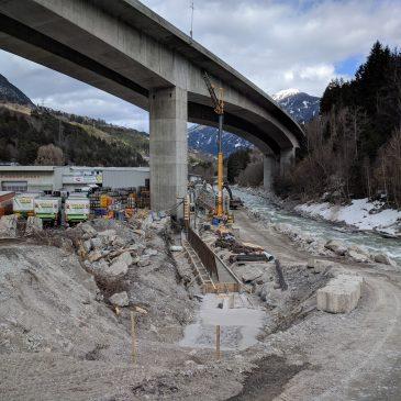 Hochwasserschutz an der Sanna