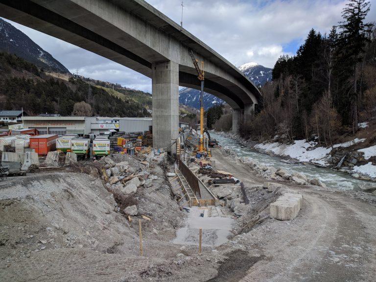 Hochwasserschutz an der Sanna - ASI-Tirol | alpinesicherheit.com