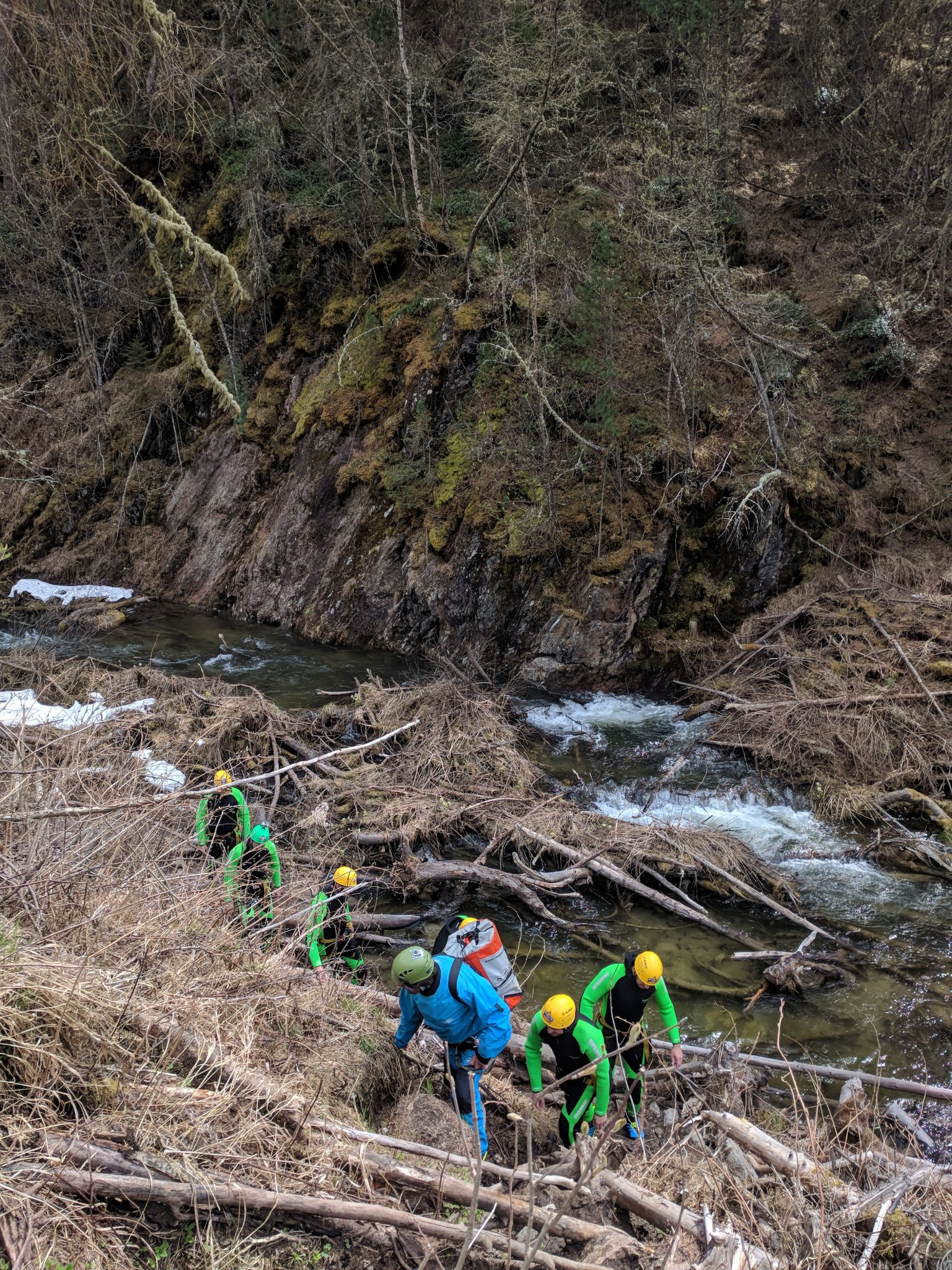 Nederbach Ausstieg - Wasserrechtliche Beurteilung des Canyoning - Dr Edmundd Primosch