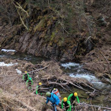 Wasserrechtliche Beurteilung des Canyoning