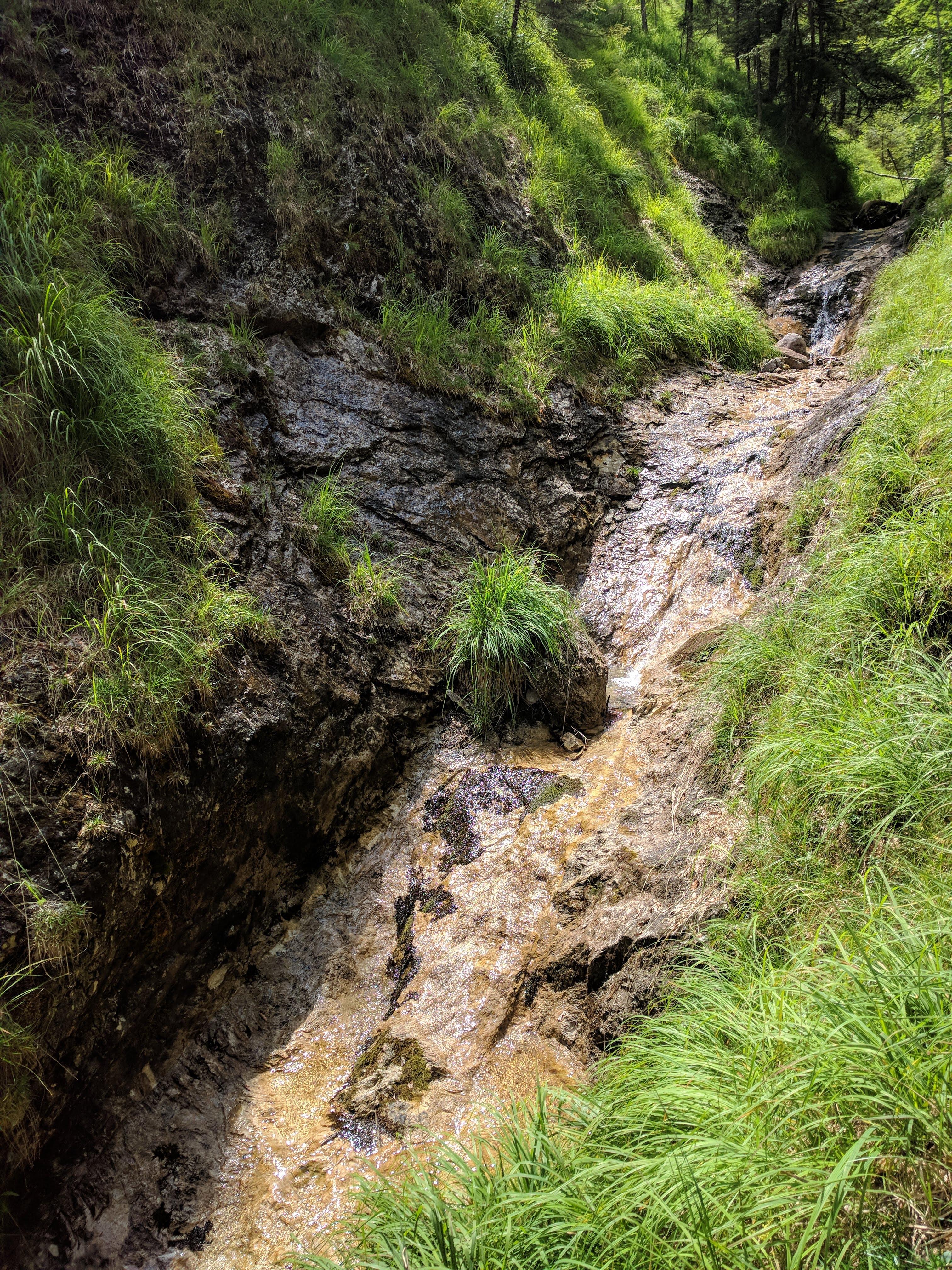 Latreinbach Ausstieg oberer Teil