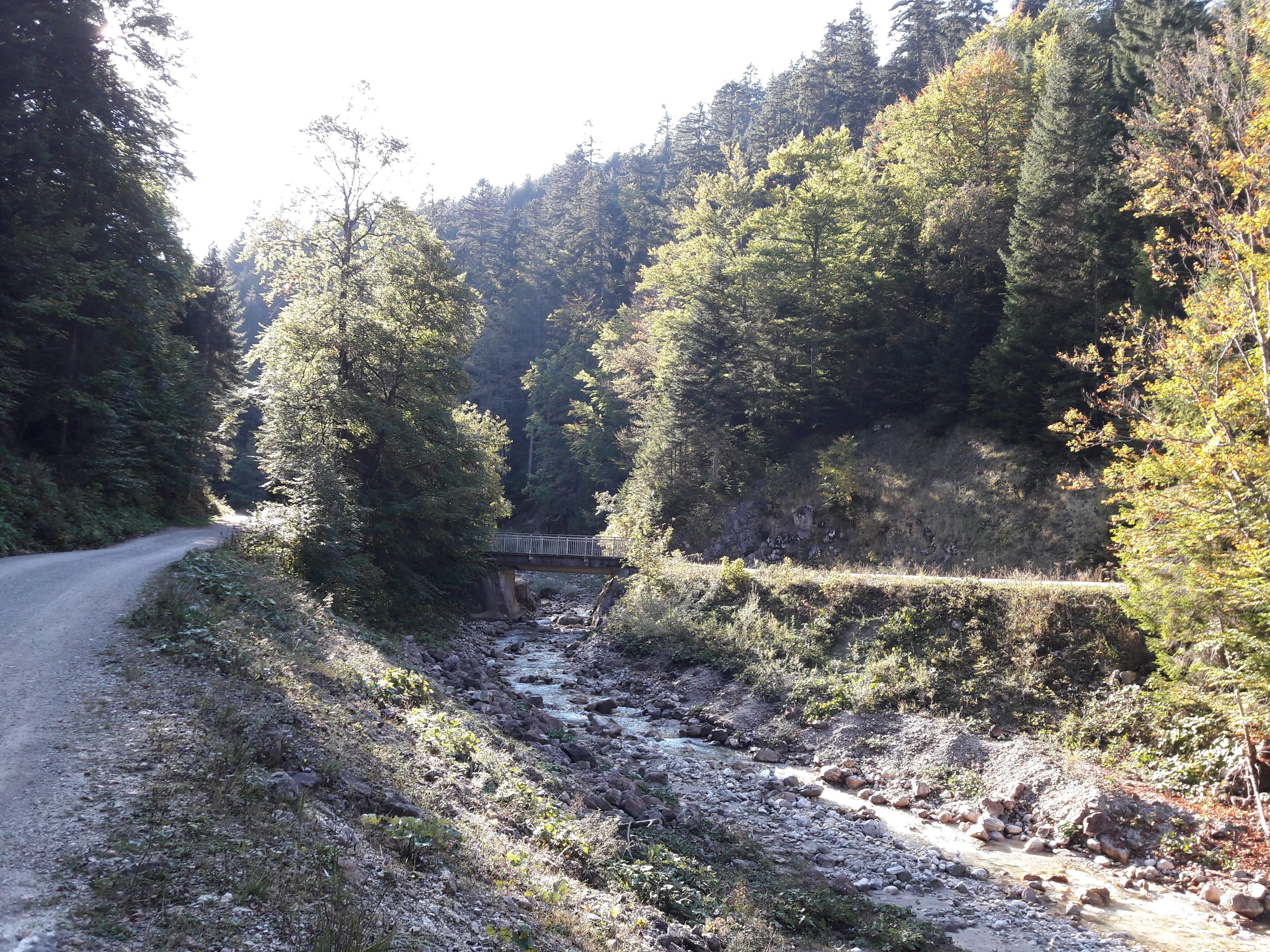 Sababach Einstieg