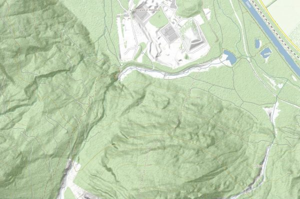 Frauenbach topografische Karte ©tiris/ASI
