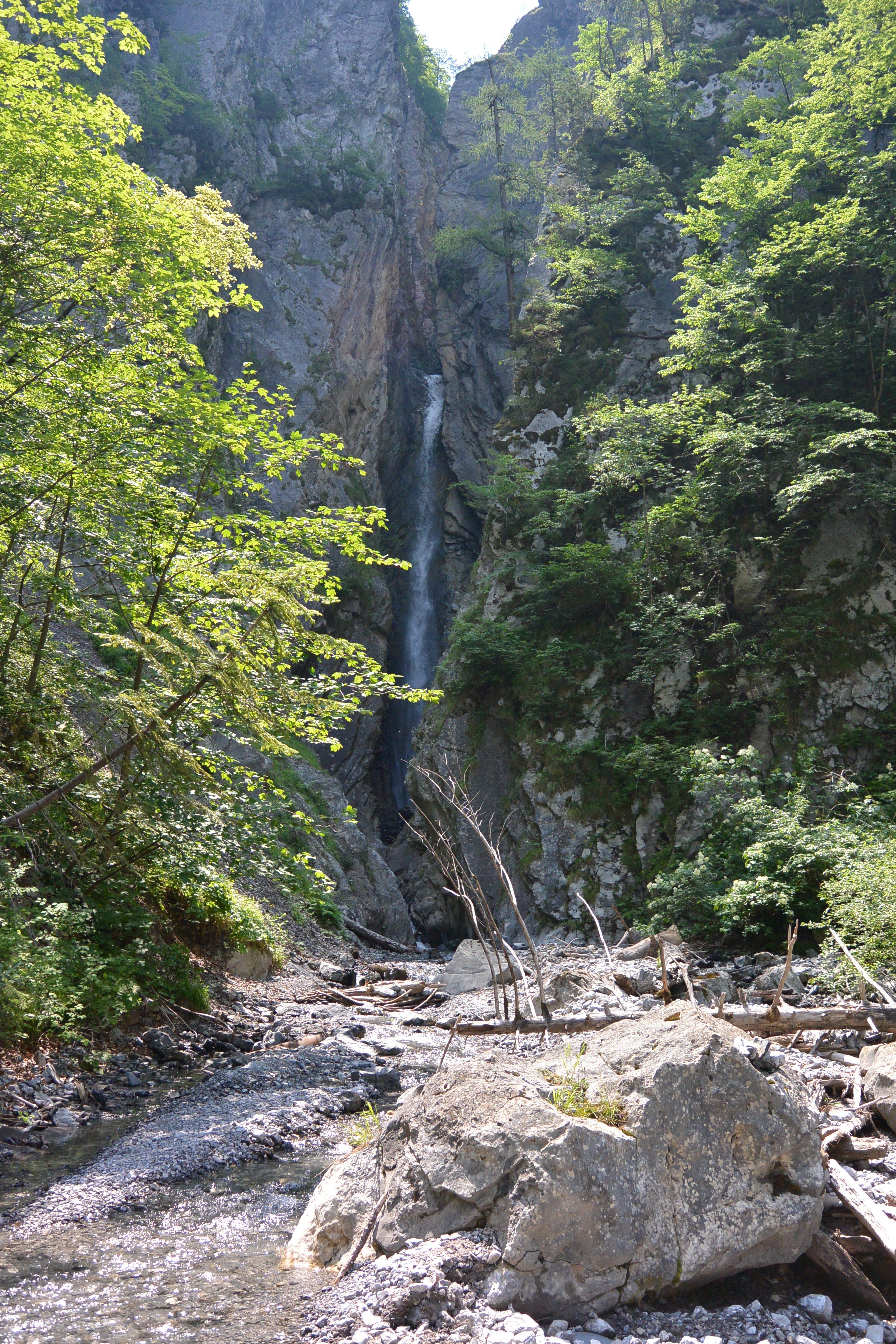 Silberfall, Oberdrauburg. Foto Public Domain