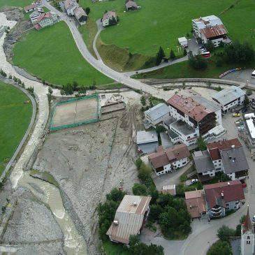 Fotos Hochwasser 2005 Bezirk Landeck