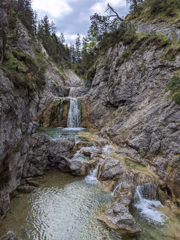 Canyoning Archbach Planseeablauf