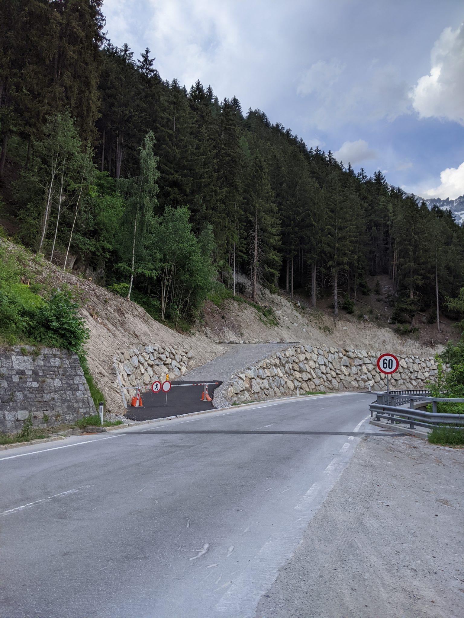 Strengen Mure Schutzdamm B 171
